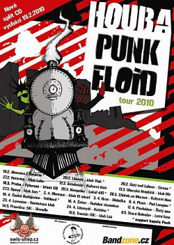 Houba + Punk Floid = Houba/Punk Floid Tour 2010