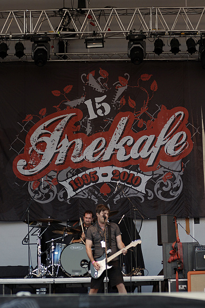INEKAFE domácim headlinerom hudobného festivalu TOPFEST 2012!