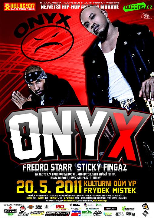 ONYX vystoupí ve Frýdku-Místku!