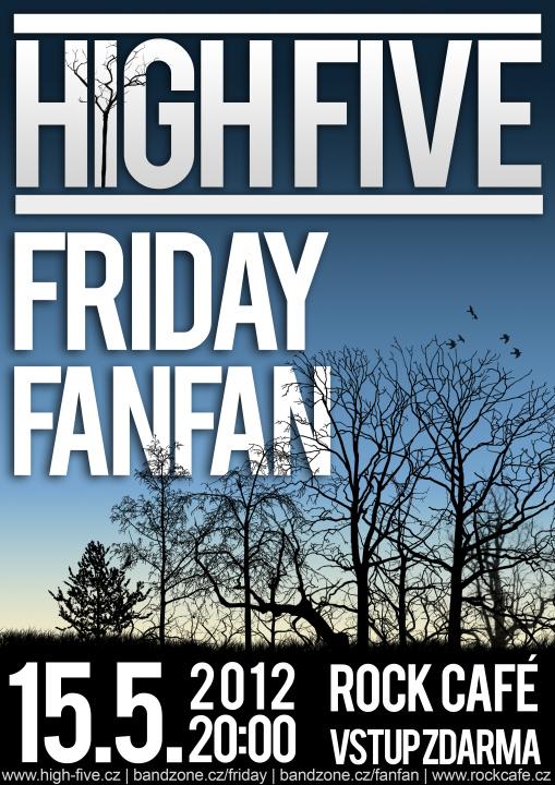 Koncert skupiny High Five v Praze!