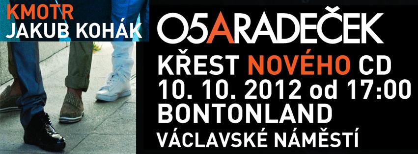 Kapela O5&Radeček pokřtí zítra album Pozdrav z Opičích hor!