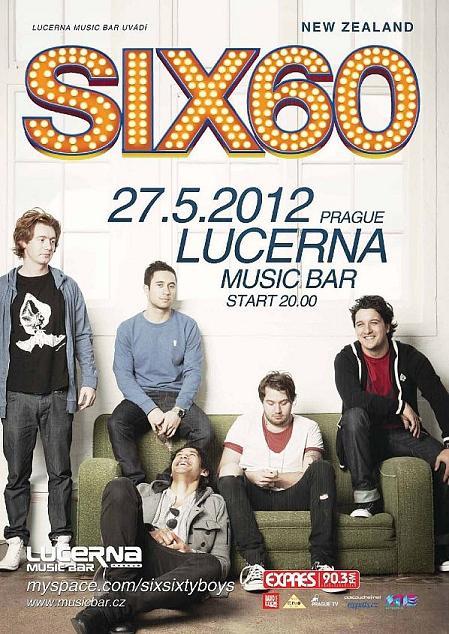 Six60: Superstars z Nového Zélandu dnes poprvé v Praze!