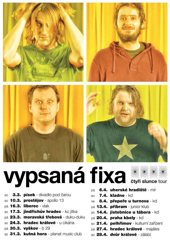 Vypsaná fiXa a Čtyři slunce tour!