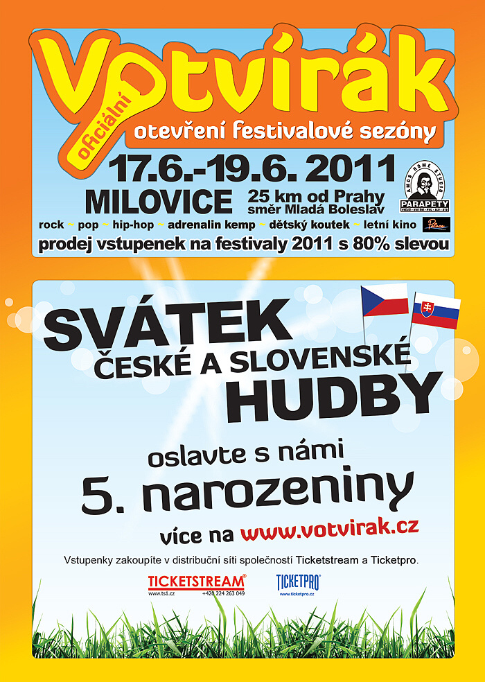 Festival Votvírák: svátek české a slovenské hudby!